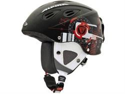 Детский шлем Alpina GRAP 2.0 JR, Black/Red Matt (распродано) - фото 6983