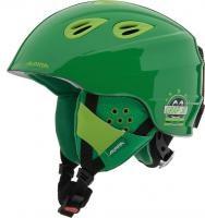 Детский шлем Alpina GRAP 2.0 JR, two green matt (распродано) - фото 6993