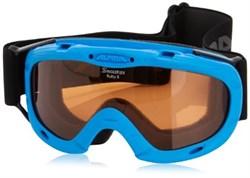 Детская горнолыжная маска Alpina JUNIOR Ruby S, blue/SH S1 - фото 7002