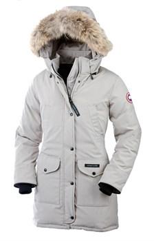 Женская куртка Canada Goose Trillium Parka Light Grey (распродано) - фото 7044