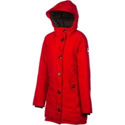 Женская куртка Canada Goose Camrose Parka, Red (распродано) - фото 7046