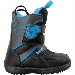 Детские ботинки BURTON grom BLACK/GRAY/BLUE - фото 7059