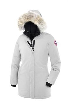 Женская куртка Canada Goose Victoria PARKA Light Grey - фото 7749