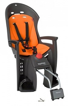Детское кресло Hamax Siesta, серый/оранжевый - фото 8993