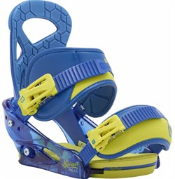 Детские крепления BURTON MISSION SMALLS NEXT LEVEL BLUE - фото 9573