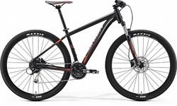 Горный велосипед Merida Big.Nine 100, Matt-Black(Signal-Red/Grey) - фото 9918