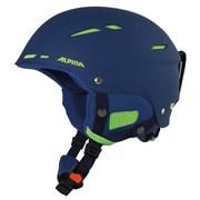 Горнолыжный шлем Alpina BIOM, navy matt