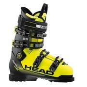 Горнолыжные ботинки Head Advant Edge 95, black-neon yellow