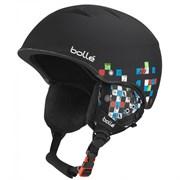 Горнолыжный шлем Bolle B-FREE, SOFT BLACK CHECKER