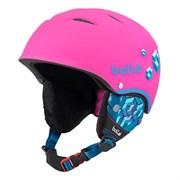 Горнолыжный шлем Bolle B-FREE, SOFT NEON PINK BLOCKS