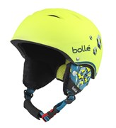 Горнолыжный шлем Bolle B-FREE, SOFT NEON YELLOW BLOCKS