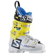 Горнолыжные ботинки Salomon X Lab 110, white-yellow