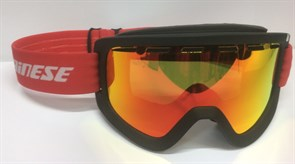 Горнолыжная маска DAINESE FREQUENCY GOGGLES BLACK/RED/RED-ION