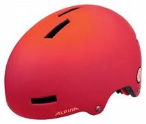 Велошлем (парковый) Alpina 2018 AIRTIME red spot