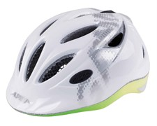 Велошлем Alpina 2018 Gamma 2.0 Flash white-rainbow