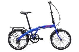 Складной велосипед Stark Jam 20.1 V, тёмно-синий/красный/голубой