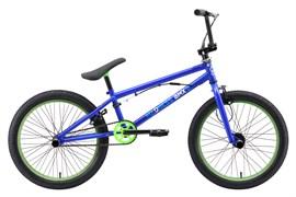 Трюковой велосипед Stark Madness BMX 2, синий/зелёный/голубой