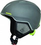 Детский шлем Alpina CARAT XT charcoal-neon matt