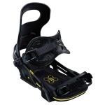 Крепления для сноуборда BENT METAL LOGIC Black-yellow