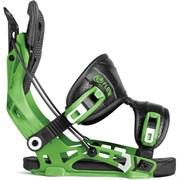 Сноубордические крепления FLOW NX2 green
