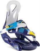 Детские сноубордические крепления NIDECKER Magic Blue 2019-20