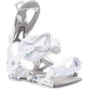 Крепления для сноуборда SP Core - white/silver