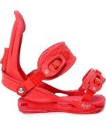 Крепления для сноуборда Union Rosa Red