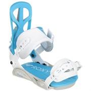 Крепления для сноуборда Roxy Team White/Blue M/L