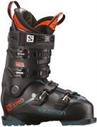 Горнолыжные ботинки SALOMON X PRO 120 Black/Blue/Orange