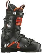 Горнолыжные ботинки Salomon S/Max 100 Black/Orange/White