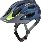 Шлем велосипедный Alpina Carapax 2.0 Dark Blue/Neon Matt 57-62