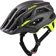 Шлем велосипедный Alpina Garbanzo Black/Yellow Matt 57-61