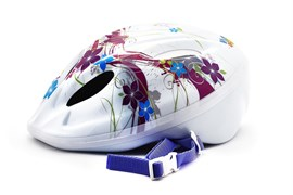 Детский велошлем Vinca sport, VSH 5 flowers S