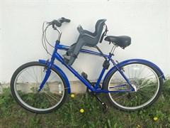 Детское велокресло Hamax 2021 Kiss Medium Green/Black