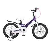 Велосипед MAXISCOO Space, Стандарт, Детский 16, Фиолетовый