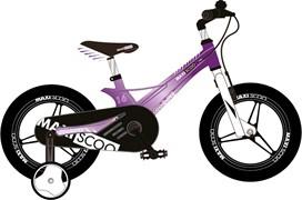Велосипед MAXISCOO Space, Делюкс Детский 16, Фиолетовый перламутр