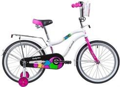 """Велосипед NOVATRACK CANDY 20"""", белый"""