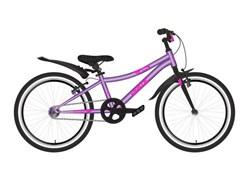 Велосипед NOVATRACK PRIME 20 тормоз V-brake розовый
