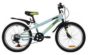"""Велосипед Novatrack Racer 20"""", голубой"""