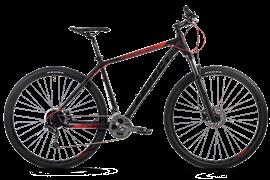 """Велосипед ASPECT AIR PRO 29"""", черный-красный"""
