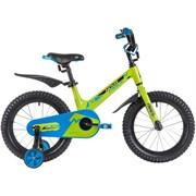 Детский велосипед NOVATRACK BLAST 16, зеленый