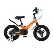 Велосипед Maxiscoo Space Делюкс плюс, 14, Оранжевый