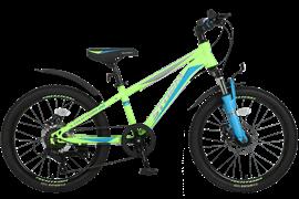 """Велосипед Tech Team Storm 20"""" 2021, зеленый"""