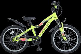 Велосипед Tech Team Katalina 20 2021, желтый