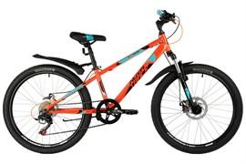 Велосипед Novatrack Extreme 24, оранжевый