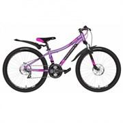 Велосипед Novatrack Katrina 24'', фиолетовый