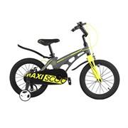 """Велосипед Maxiscoo Cosmic, Стандарт, 18"""", Серый Матовый"""