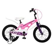 """Велосипед Maxiscoo Cosmic, Стандарт, 16"""", розовый матовый"""