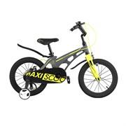 """Велосипед Maxiscoo Cosmic, Стандарт, 16"""", Серый матовый"""