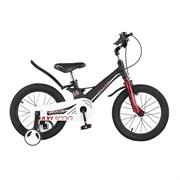 Велосипед MAXISCOO Space, Стандарт 16, Черный матовый